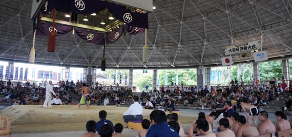 わんぱく相撲大阪府決勝大会